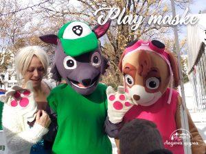 Play Maske, Ledena šuma
